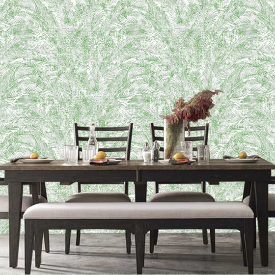 Isabella Palm Design Green - 6300015