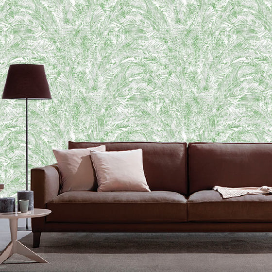 Isabella Palm Design Green
