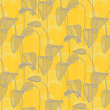 Leaf Outline Design Yellow