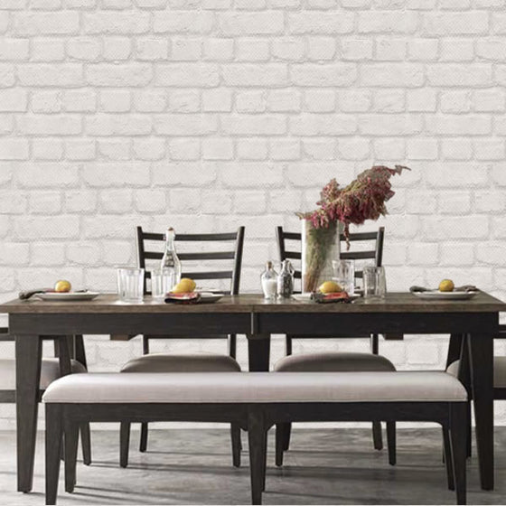 Brick Design Pale Grey - BW036