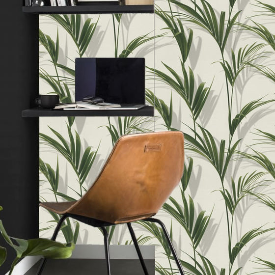 Palm Design Green - A