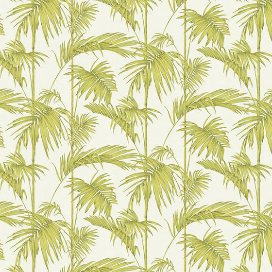 Palm Design Lime Green