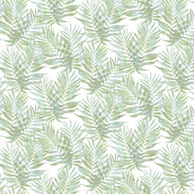 Palm Leaves Design Green
