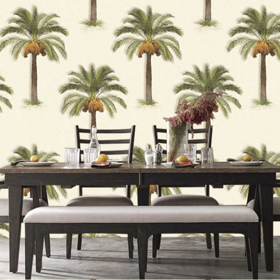 Palm Trees Design Stone