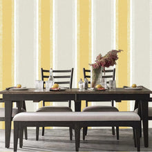 Stripe Design Mustard