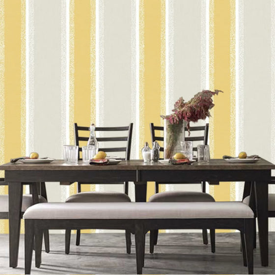 Stripe Design Mustard - CB42139