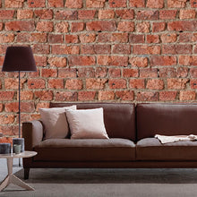 Urban Brick Design Red