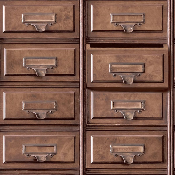 Vintage Drawers Design Brown
