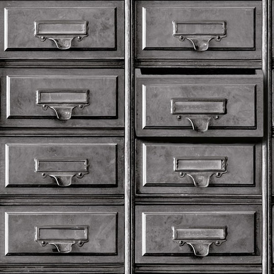 Vintage Drawers Design Grey