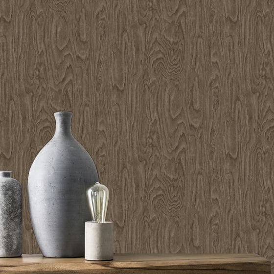 Wood Effect Design Brown