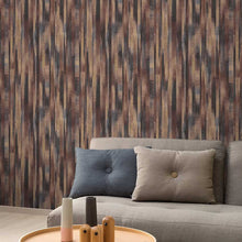 Wood Stripe Design Copper - PP3204