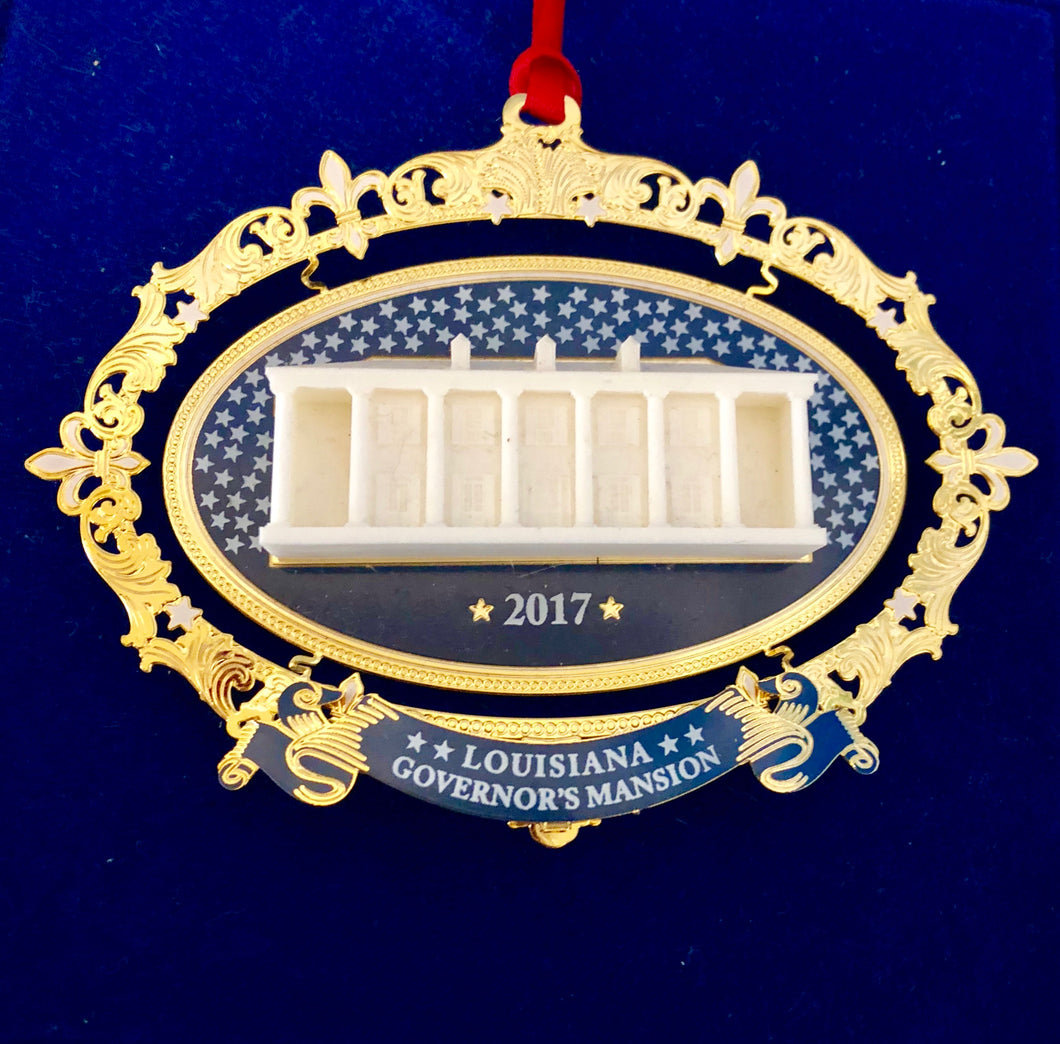 2017 Governor's Mansion Ornament