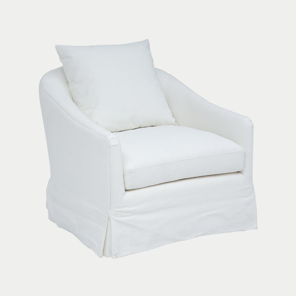 MARIANA Blanco - Sillón Canvas