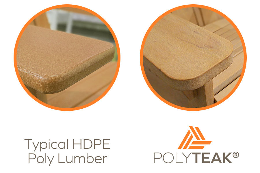 Types of Poly Lumber used for Outdoor Furniture