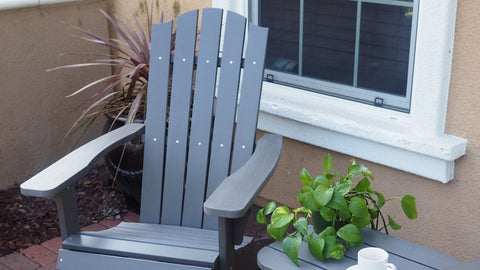 Best Material for Adirondack Chairs: Poly Lumber