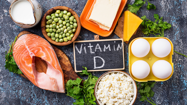 Vitamin D sources- salmon, eggs, cheese.