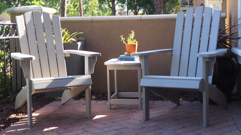 Enhance any space with Adirondack chairs, some of the most comfortable outdoor chairs