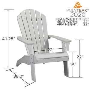 King Size Adirondack Chair