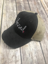 Blessed Distressed Trucker Hat