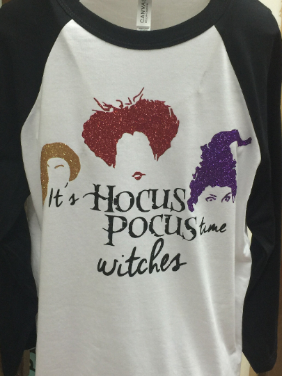 Hocus Pocus Time Witches Shirt