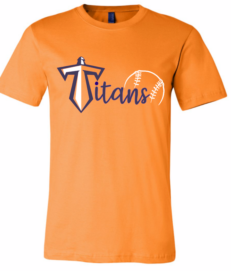 Orange Titans Bella Tee