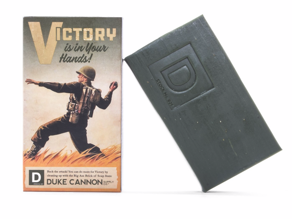 WWII-ERA BIG ASS BRICK OF SOAP - VICTORY