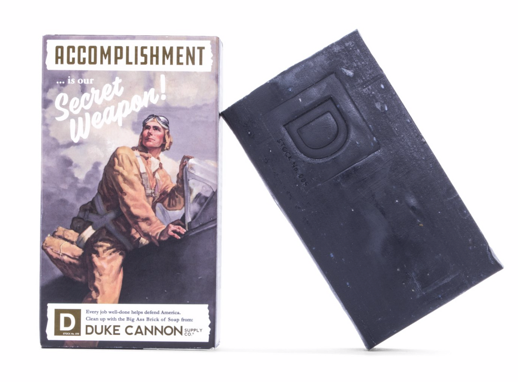WWII-ERA BIG ASS BRICK OF SOAP - ACCOMPLISHMENT