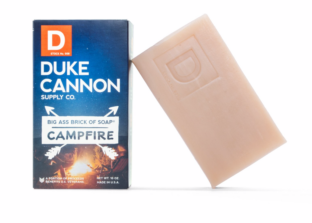 BIG ASS BRICK OF SOAP - CAMPFIRE