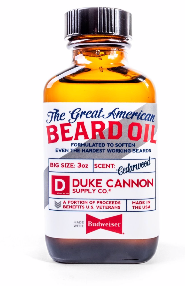 GREAT AMERICAN BEARD OIL - MADE WITH BUDWEISER
