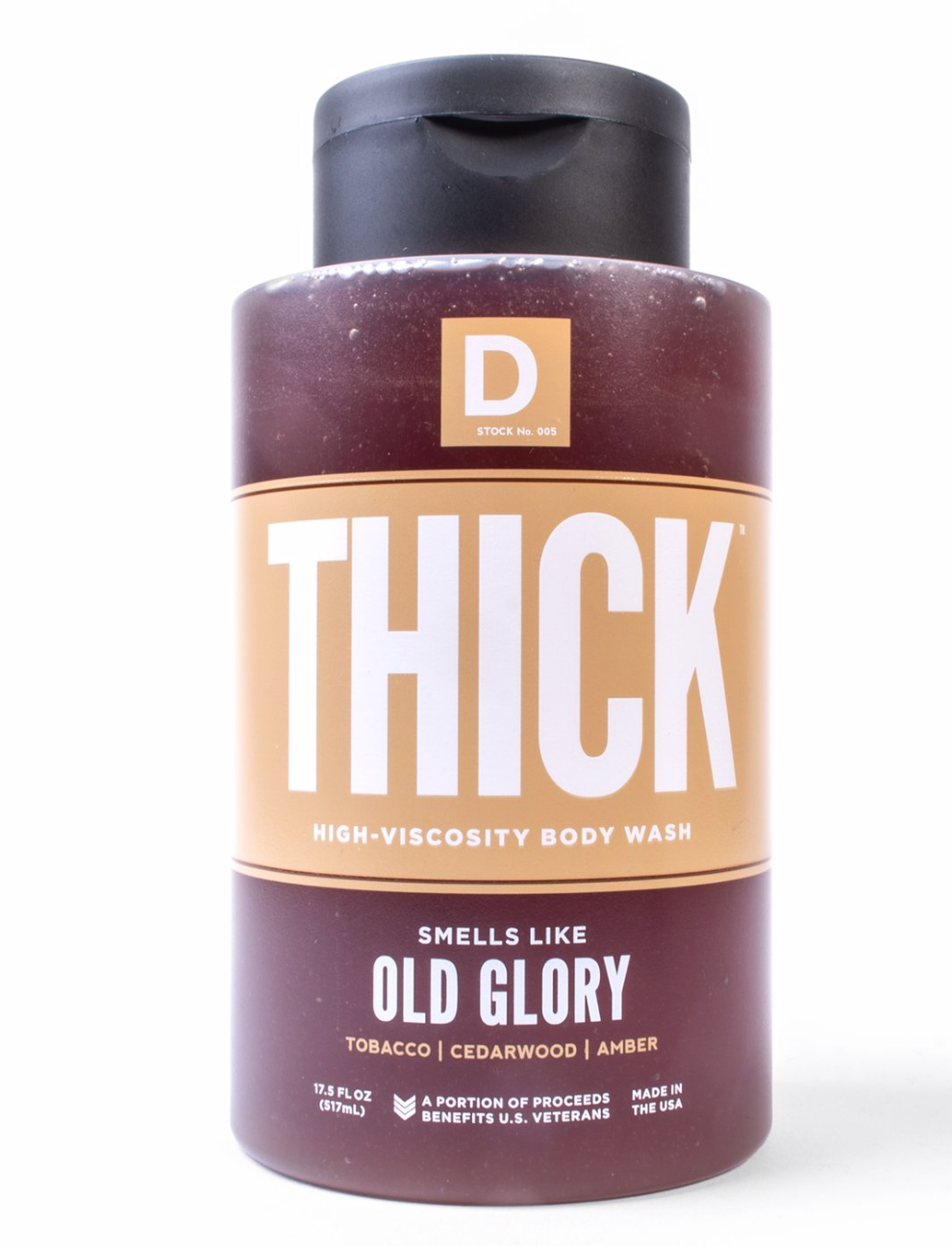THICK HIGH-VISCOSITY BODY WASH - OLD GLORY
