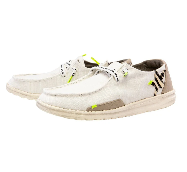 Women's Wendy Star White Hey Dudes