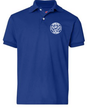 Oakboro Stem Short Sleeve Polo- Royal