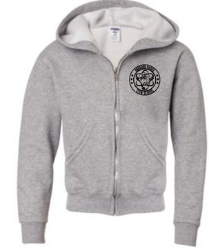 Oakboro Stem Zip Up- Grey