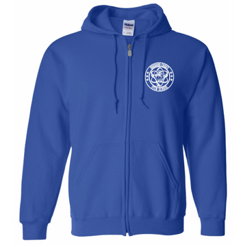 Oakboro Stem Zip Up- Royal