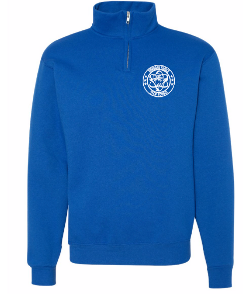 Oakboro Stem Quarter Zip- Royal