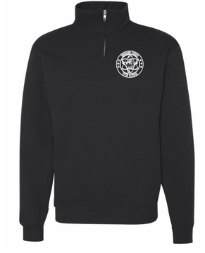 Oakboro Stem Quarter Zip- Black