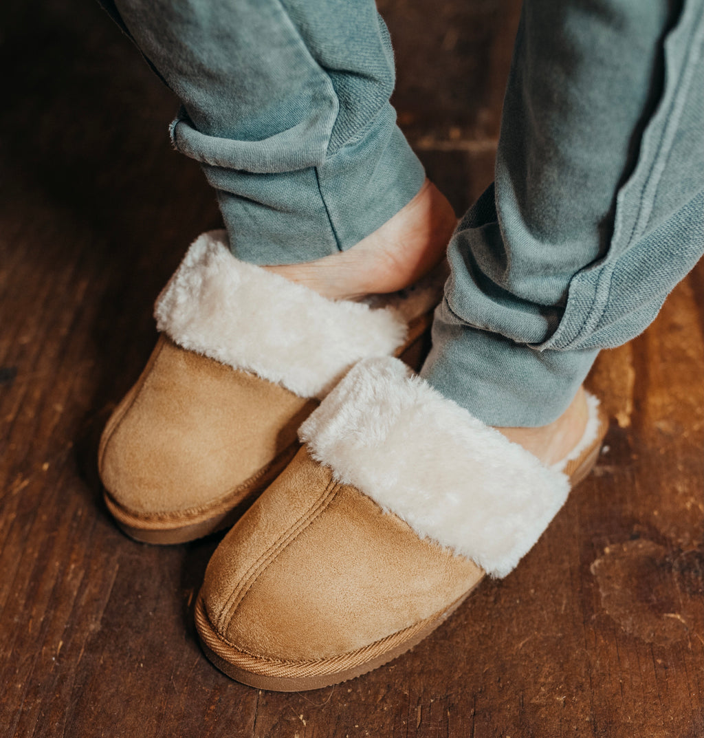 Snooze Chestnut Slippers