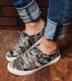 Fruit Earth Camo Sneakers
