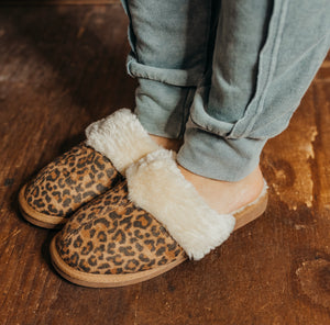 Snooze Leopard Slippers