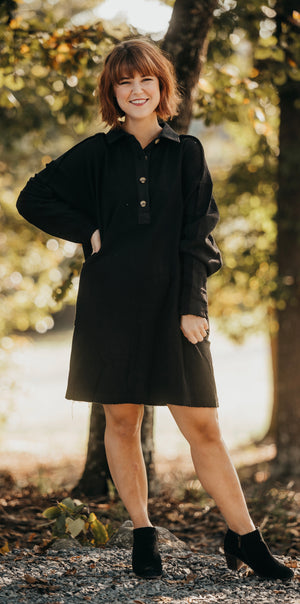 Black Collard Dress