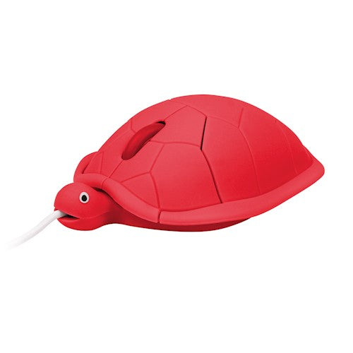 Computer mouse USB turtle red