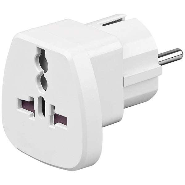 Travel adaptor σούκο male / universal female