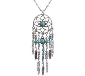 Bohemia Style Dream Catcher Necklaces