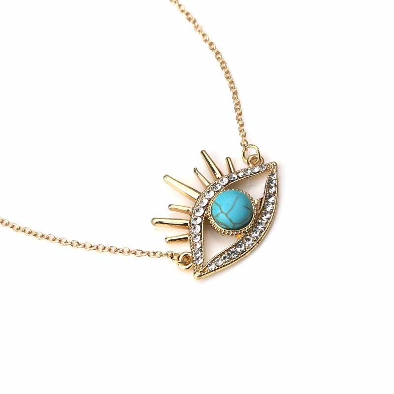 3rd Eye Turquoise Necklace - spiritualistbabe