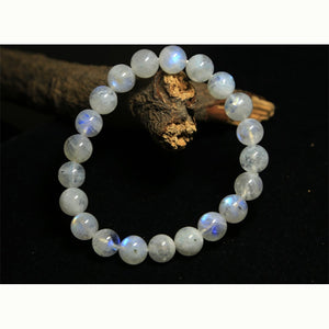 Rainbow Moonstone Stretch Bracelet