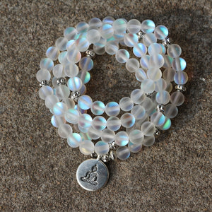 Beautiful Opalite Mala Beads - spiritualistbabe