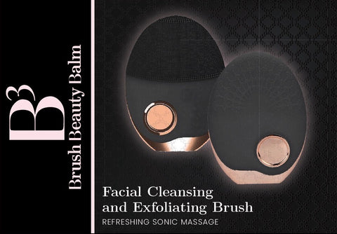 FACIAL CLEANSING + EXFOLIATING BRUSH