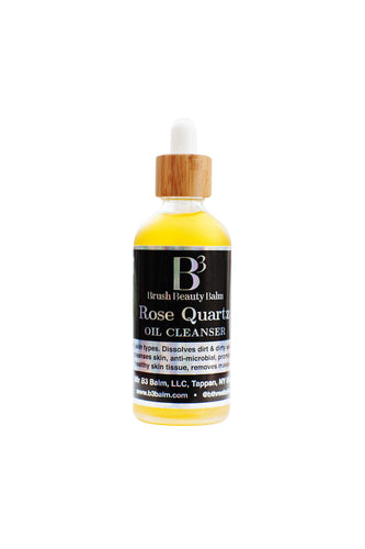ROSE QUARTZ OIL CLEANSER - B3 Balm
