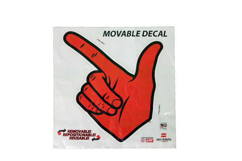 bb077513578f Guns Up Movable Decal 12