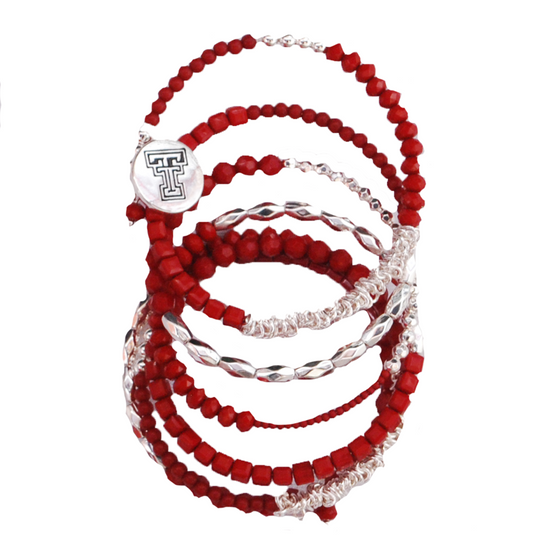 low priced 74356 887f3 Mackenzie Beaded Wrap Bracelet